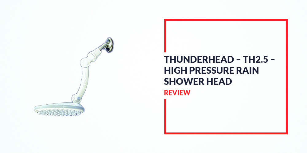 Thunderhead TH2 5 High Pressure Rain Shower Head Review 90 Nozzles At Your