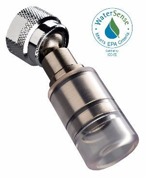 High Sierra 1.5 GPM High Efficiency Low Flow Shower Head