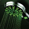 HotelSpa® All Chrome 5 Setting LED/LCD Handheld Shower-Head