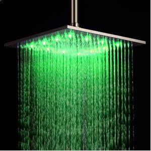Ouku® Stainless Steel Rainfall Shower Head