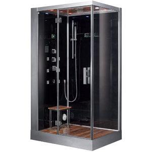 Ariel Platinum DZ959F8-BLK-L Steam Shower