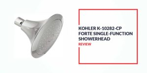 KOHLER K-10282-CP Forte Single Function Shower Head Review