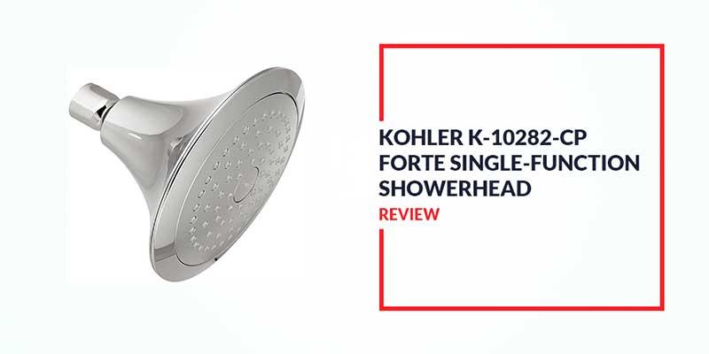 KOHLER K-10282-CP Forte Single Function Shower Head Review