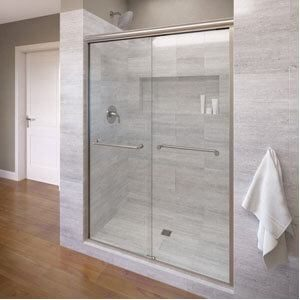 Basco Infinity Semi-Frameless Sliding Shower Door