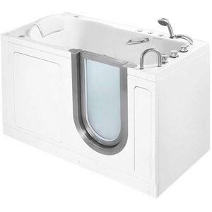Ellas Bubbles 55 x 30 Deluxe Massage Whirlpool Walk In Tub