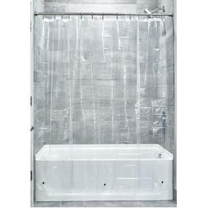 InterDesign Mildew-Free 3 Shower Liner
