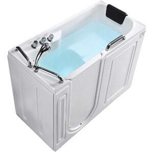 Mecor Walk-in Whirlpool Bathtub