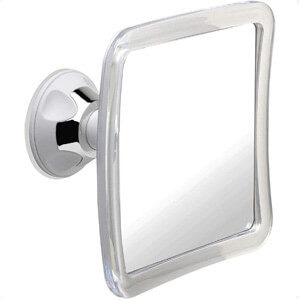 Mirrorvana Fogless Bathroom Shaving Mirror