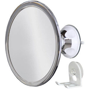 No Fog Shower Mirror with Rotating