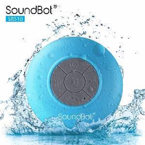 SoundBot HD Bluetooth Shower Speaker