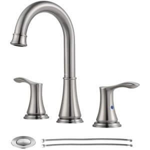 PARLOS Widespread 2 Handles Bathroom Faucet