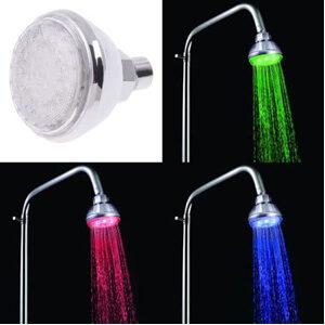 Shower Door Direct Color Changing Showerhead